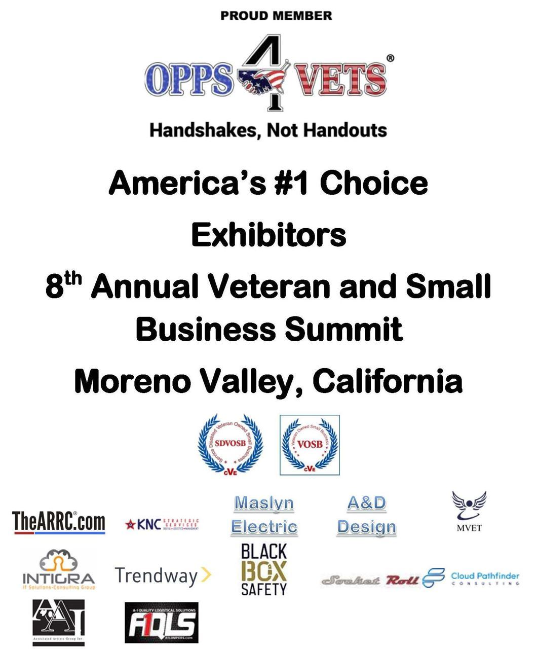 Southwest Veterans' Business Resource Center - Exhibitors - 8th